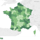 Data Mining: where in France are the most companies created?
