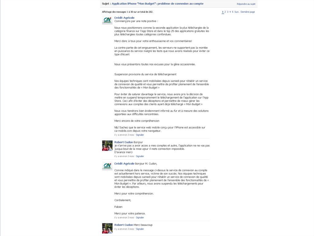Crédit agricole : pourquoi j'ai du mal à comprendre leur communication sur Facebook