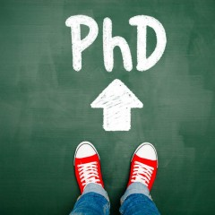 Reach the next level: embark on a PhD