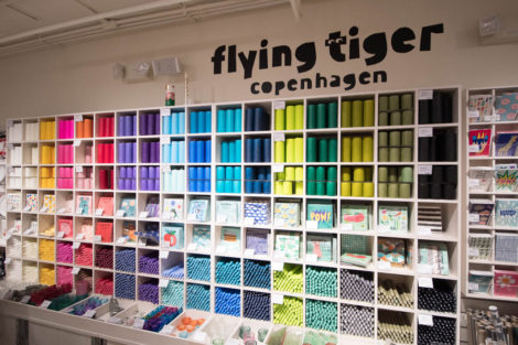 rayon de Flying Tiger à New York