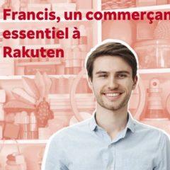 Publicité Rakuten : Francis, le commerçant qui n'existe pas
