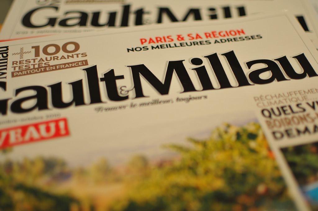 Interview of Betrand Clavières, Managing Director of Gault&Millau
