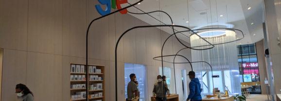 Il Google Store di Chelsea (New-York): esperienziale e diverso da Apple