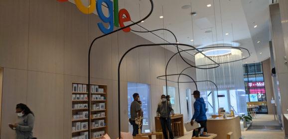 De Google-winkel in Chelsea, New York: ervaringsgericht en anders dan Apple