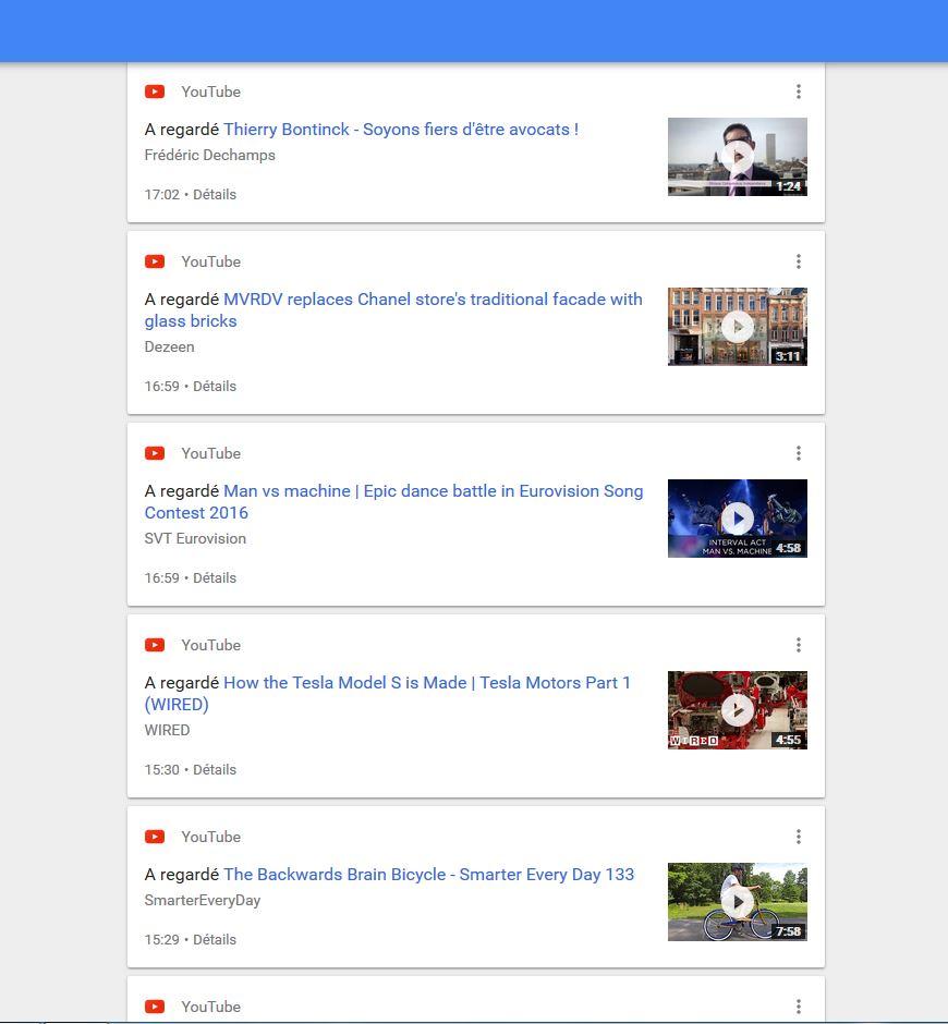 how to use google myactivity