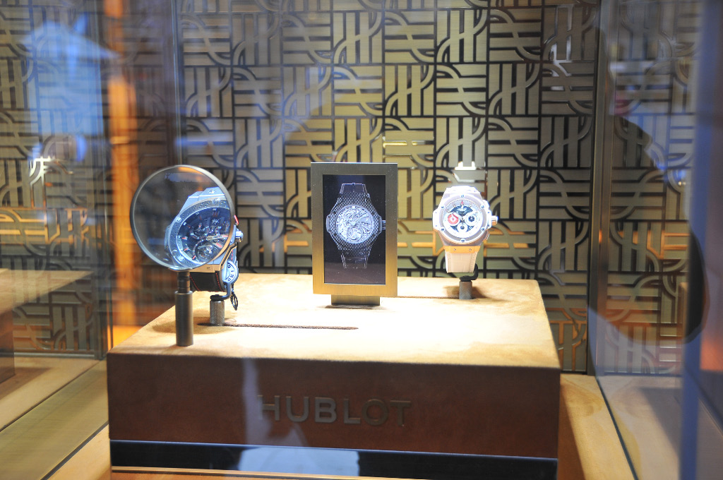 Product display: Hublot innovates once again