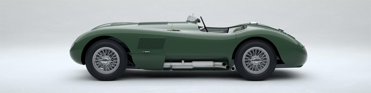 Jaguar Type C continuation car