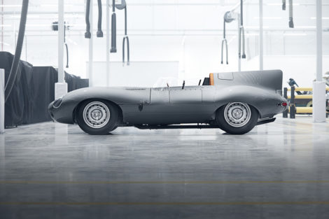 Jaguar Type-D continuation car