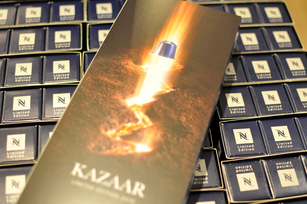Nespresso's marketing hit : Kazaar