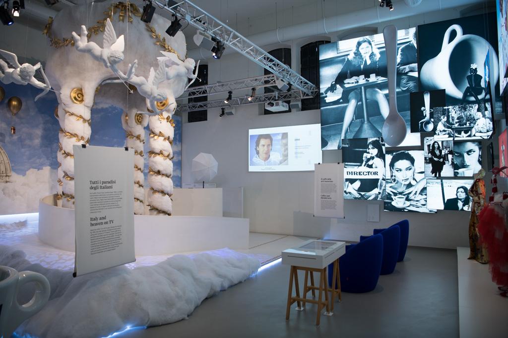 lavazza museum paradise advertising