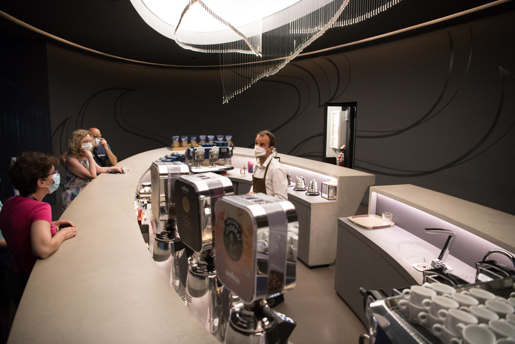 lavazza museum barista