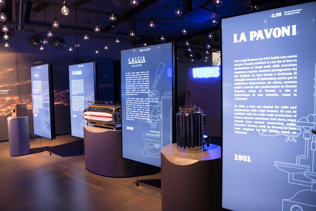 lavazza museum torino coffee machines