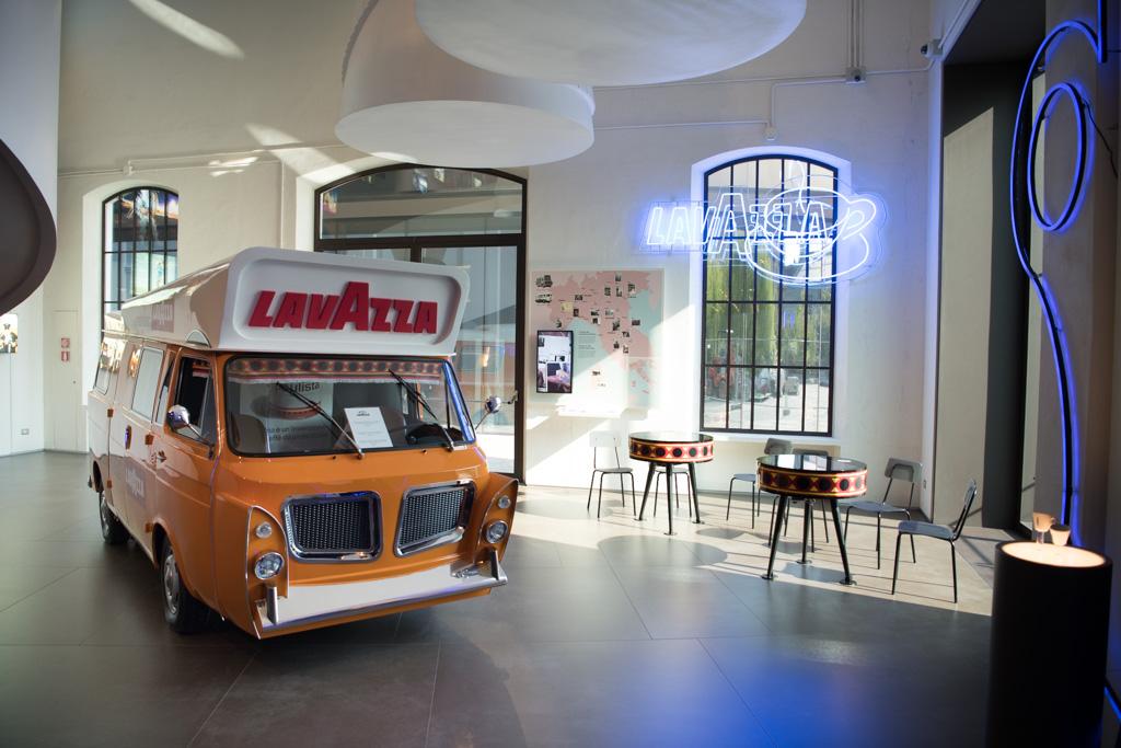 lavazza museum barista truck