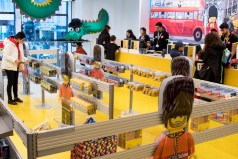 magasin Lego de Londres