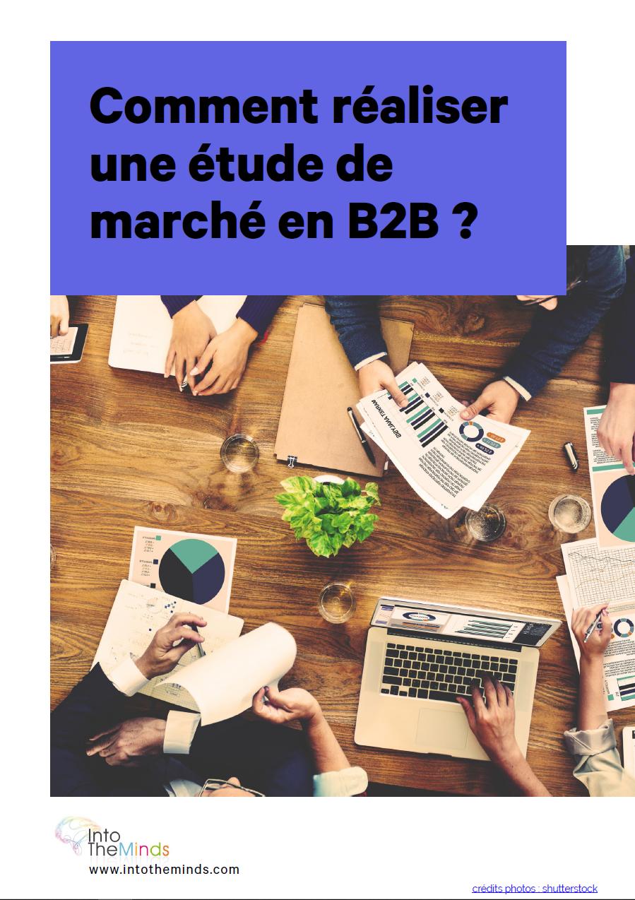 guide de l'étude de marché en B2B