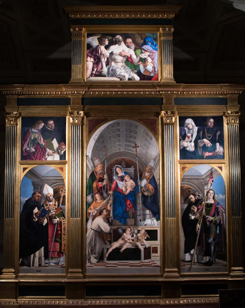Recanati Polyptych by Lorenzo Lotto (1508)