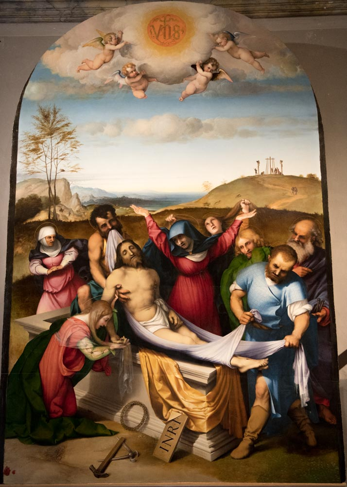 Depositione by Lorenzo Lotto (1511)