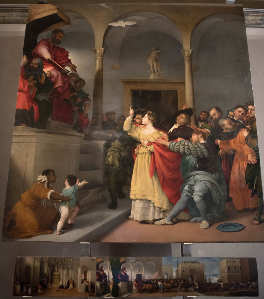 Legend of Saint Lucy by Lorenzo Lotto