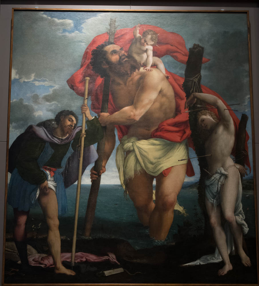 St. Christopher by Lorenzo Lotto (1531)