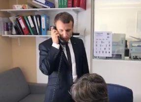 Le Président Macron est à l'écoute de ses «clients»