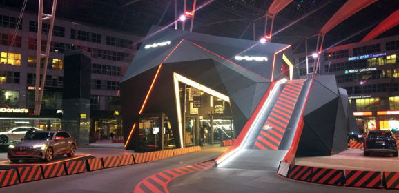 Audi e-tron : a track to test it at Munich airport