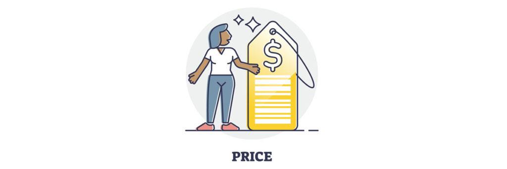marketing mix 4P price prix