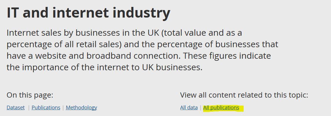statistiques sur le marché de l'IT au Royaume-Uni