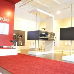 Un magasin mono-marque dédié aux produits Miele à Berlin