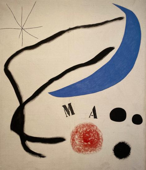 Joan Miró. Poema (III), 1968