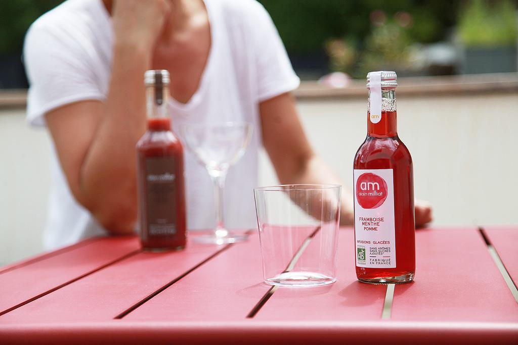 marketing mix infusion glacée alain milliat