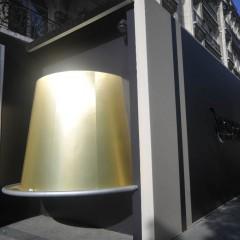 Idee in beeld: hoe Nespresso haar renovatiewerken in een marketingcampagne omzet