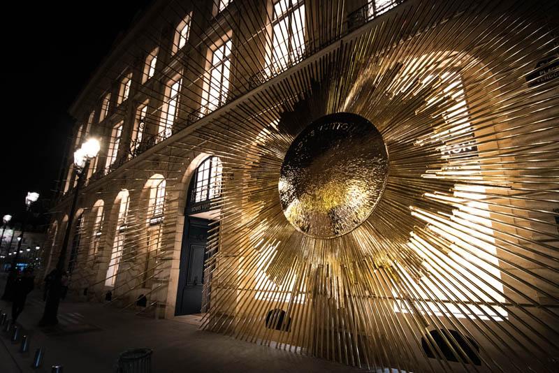 Vuitton ouvre son nouveau flagship store place Vendôme