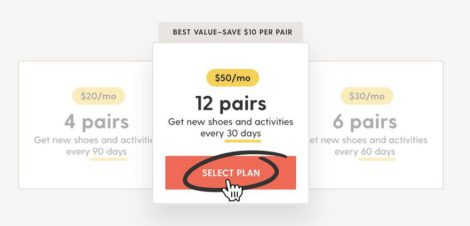 Nike Adventure Club: the different subscription models