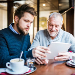 Is the younger generation digitally savvier than the old generation?