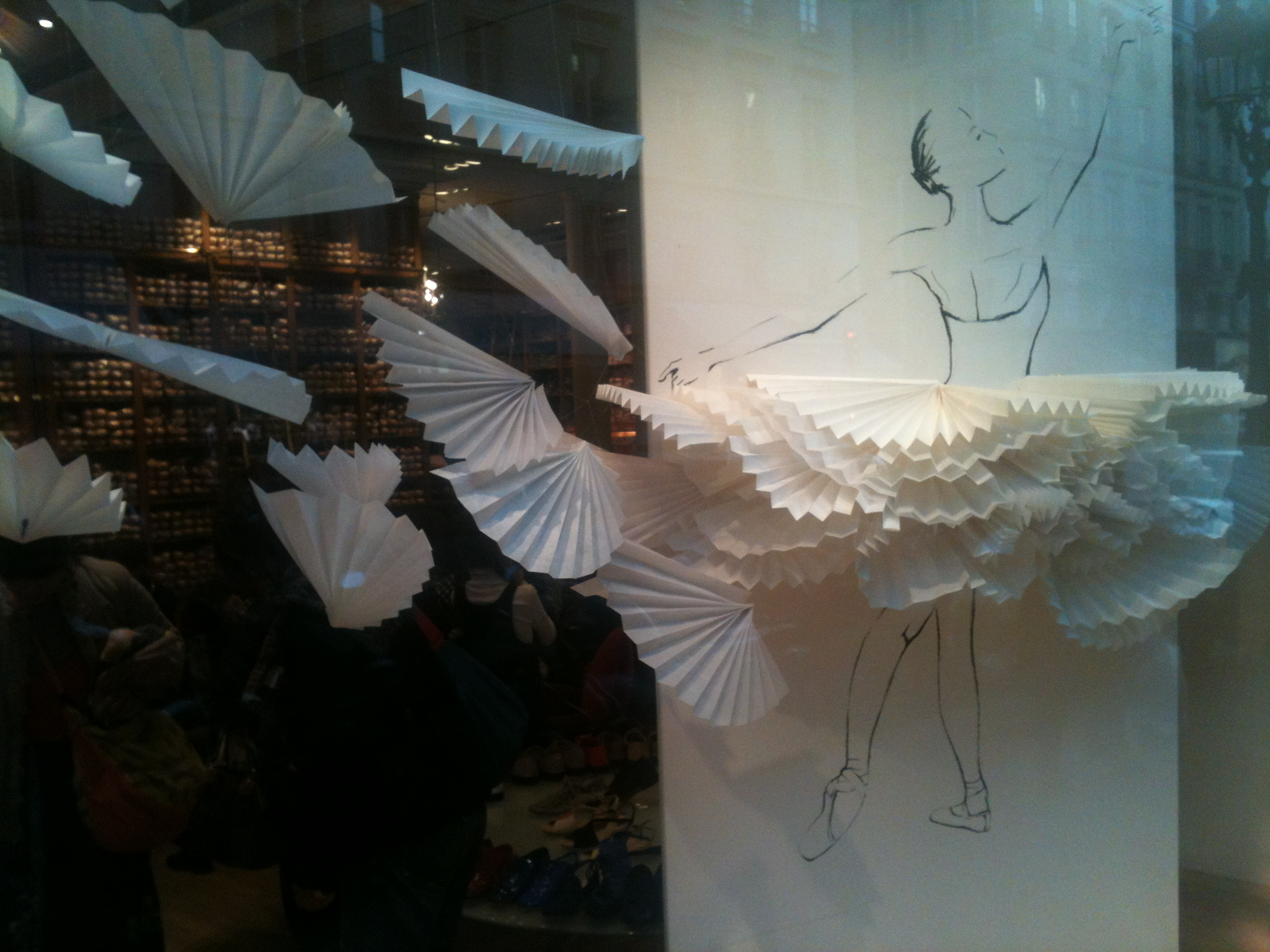 Repetto's store in Paris: always a pleasure to visit