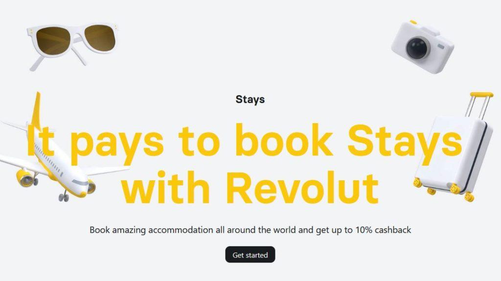revolut stays homepage