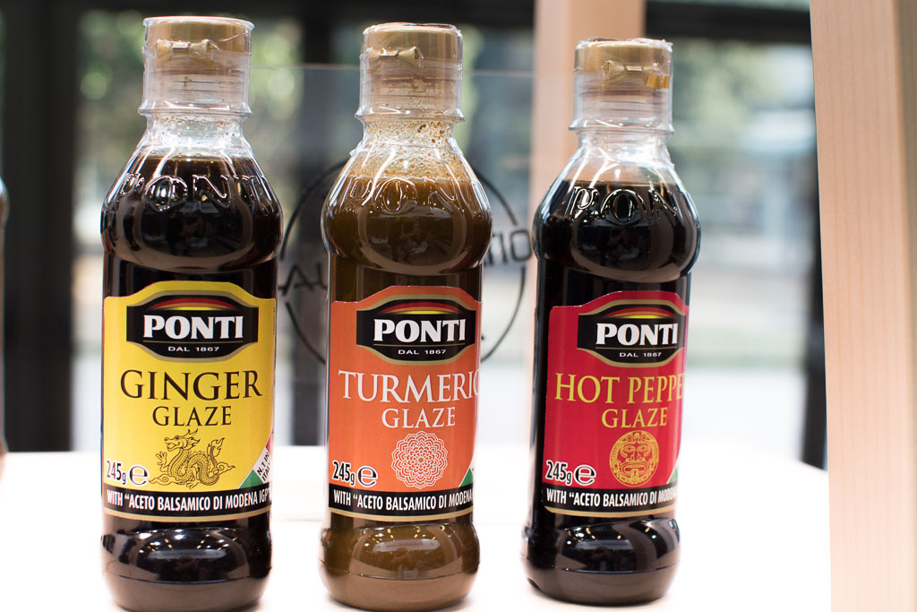 new tastes in the Ponti vinegar range