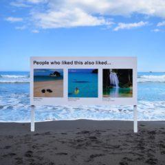 Signs of the Times: een artistiek project over algoritmische aanbevelingen