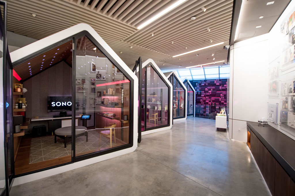 e36bd5ba6c8 Sonos flagship store offers a unique customer experience
