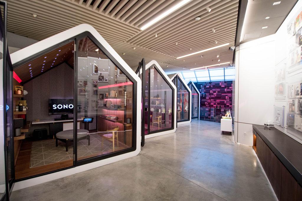 Flagship store de la marque Sonos à New-York