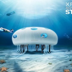 Sony opens Xperia pop-up store under water !