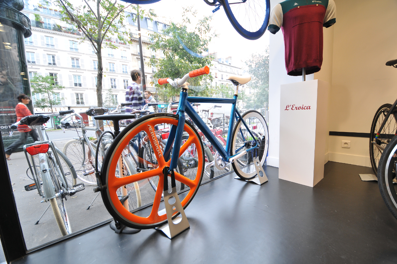 The bicycle store the same marketing strategy as a tailor for Bmx store