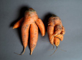 Ugly vegetables look more natural and give stores a better image