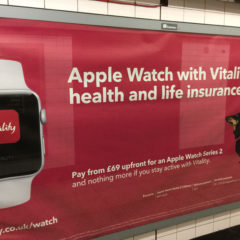 Vitality offers Apple watch to monitor your activity : one more insurance into big (health) data