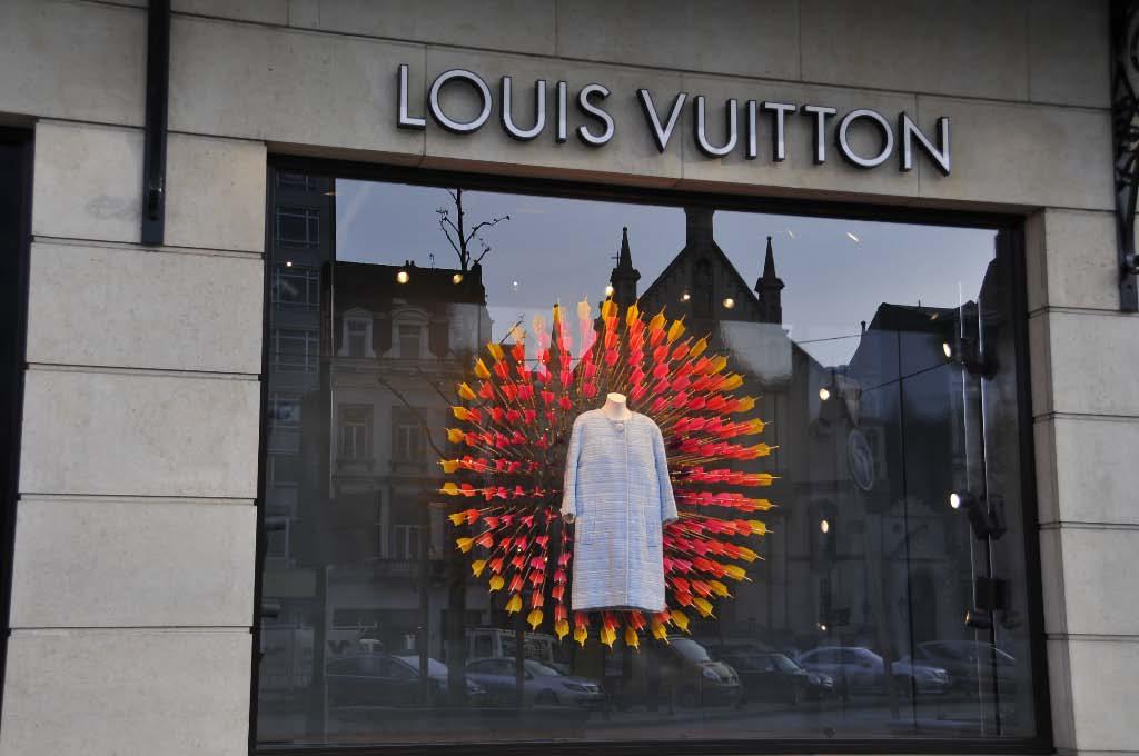Une vitrine magnifique signée Louis Vuitton