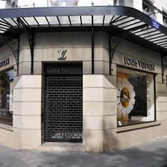 Les vitrines de Louis Vuitton entrent dans l'ère du multimedia